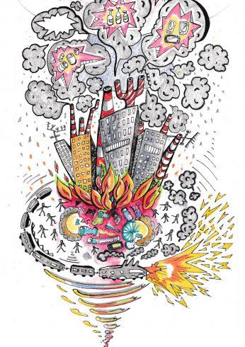 Skrytý zabijak: Znečistený vzduch zabíja milióny v rozvojových krajinách