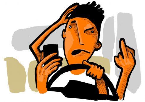 Šoférujete s ADHD? Potom zabudnite na Facebook!