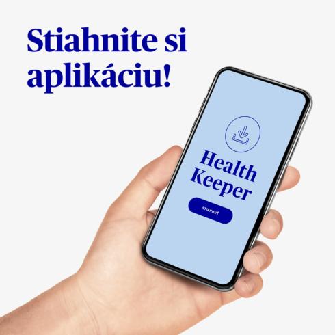 """Nová výzva v aplikácii Health Keeper – """"Každý krok je výhra"""""""