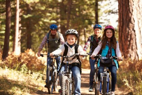 Kam sa na Slovensku a v Česku vydať na najlepšie rodinné cyklovýlety