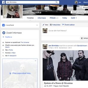 Posty na Facebooku